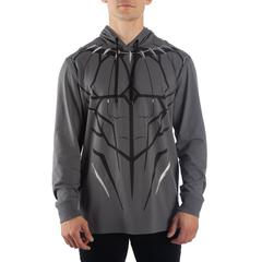 Black Panther Charcoal Hoodie - Nerd Gear Lab