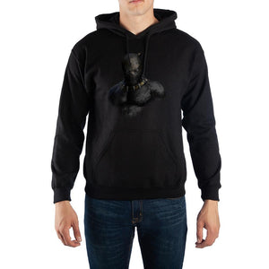 Marvel Black Panther Killmonger Pullover Hooded Sweatshirt - Nerd Gear Lab
