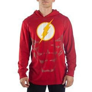 DC Comics Lightweight Flash Hoodie - Nerd Gear Lab