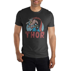 The Mighty Thor Black T-Shirt - Nerd Gear Lab