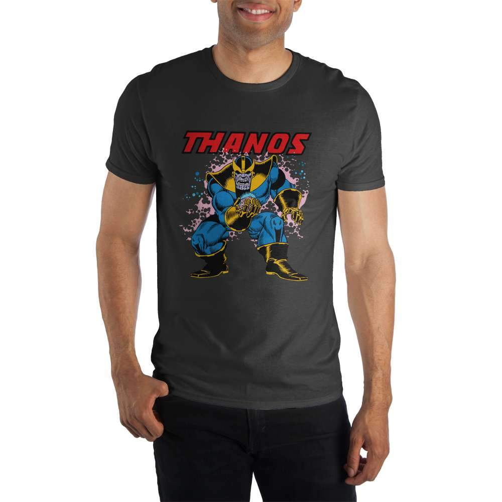 Marvel Comics Thanos Men's Black T-Shirt - Nerd Gear Lab