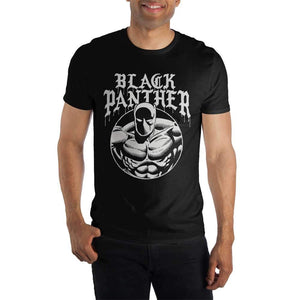 Marvel Comics Black Panther Men's Black T-Shirt - Nerd Gear Lab