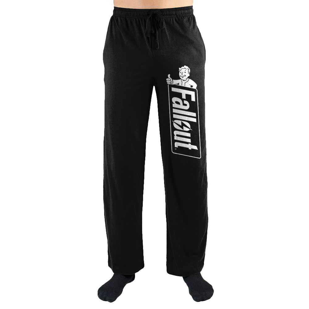Fallout Logo Print Men's Lounge Pants - Nerd Gear Lab