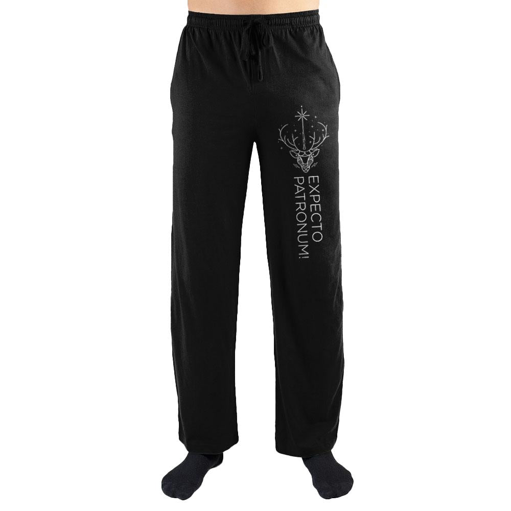 Harry Potter Expecto Patronum Print Men's Lounge Pants - Nerd Gear Lab