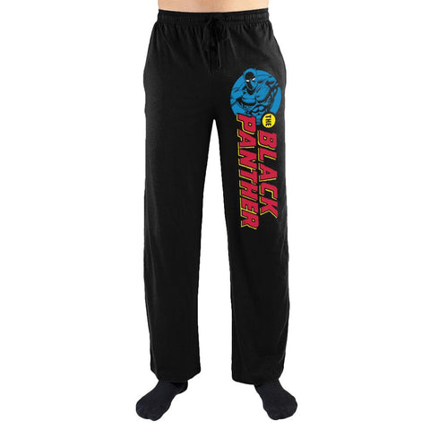 Marvel Comics Black Panther Print Men's Lounge Pants - Nerd Gear Lab