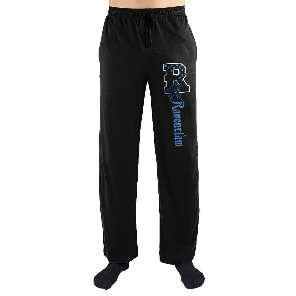 Harry Potter R Ravenclaw Logo Print Men's Lounge Pants - Nerd Gear Lab