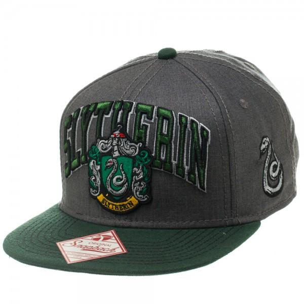 Harry Potter Slytherin Snapback - Nerd Gear Lab