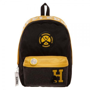 Harry Potter Hufflepuff Backpack - Nerd Gear Lab