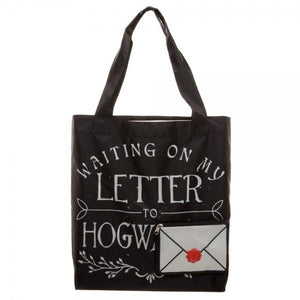 Harry Potter Letter To Hogwarts Packable Tote - Nerd Gear Lab