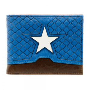 Marvel Captain America Suit Up Bi-Fold Boxed Wallet - Nerd Gear Lab