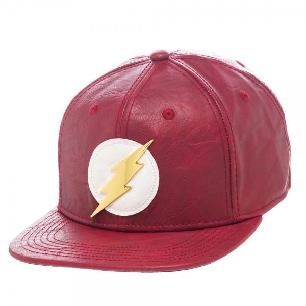 DC Comics Flash PU Snapback - Nerd Gear Lab