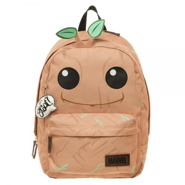 Guardians of the Galaxy Groot Big Face Backpack - Nerd Gear Lab