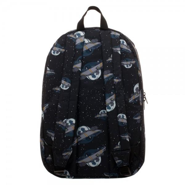 Rick and Morty UFO Quick Turn Backpack - Nerd Gear Lab