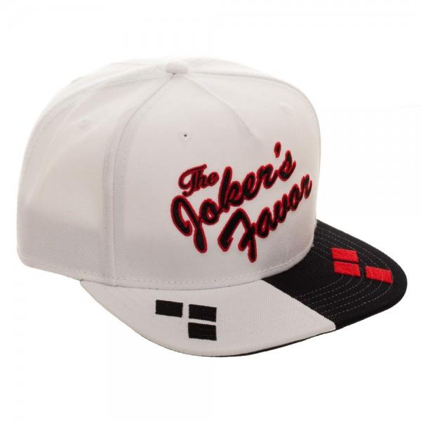 Harley Quinn Embroidered Acrylic Wool Snapback - Nerd Gear Lab