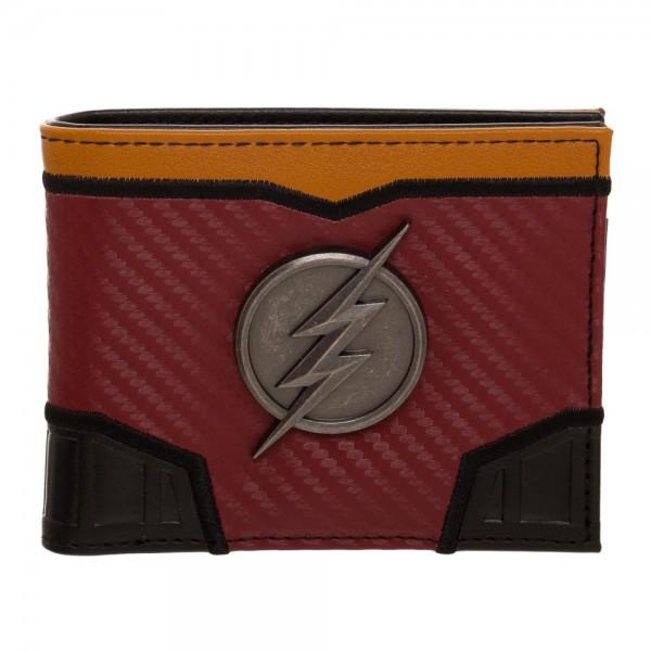 The Flash DCO Domed Metal Badge Carbon Fiber - Nerd Gear Lab