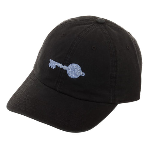 Ready Player One Crystal Key Cotton Embroidered Ballcap, Stylish Black Gamer Dad Hat - Nerd Gear Lab