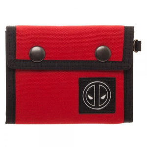 Deadpool Canvas Tri-Fold Wallet - Nerd Gear Lab