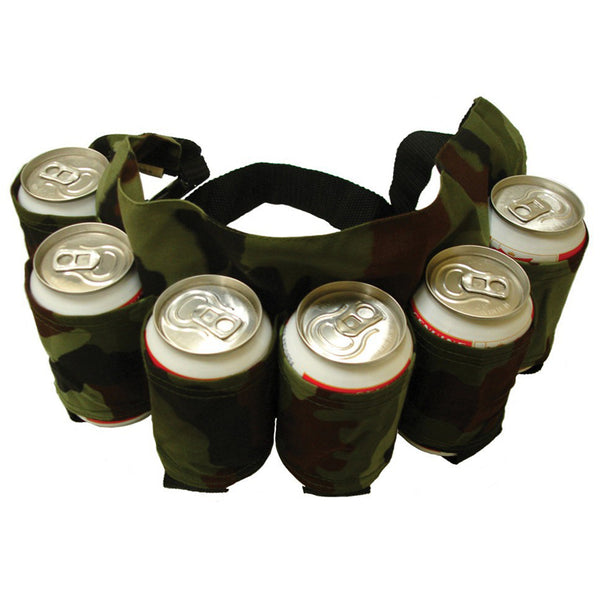6 Pack Waist Beverage Can Holder - Nerd Gear Lab