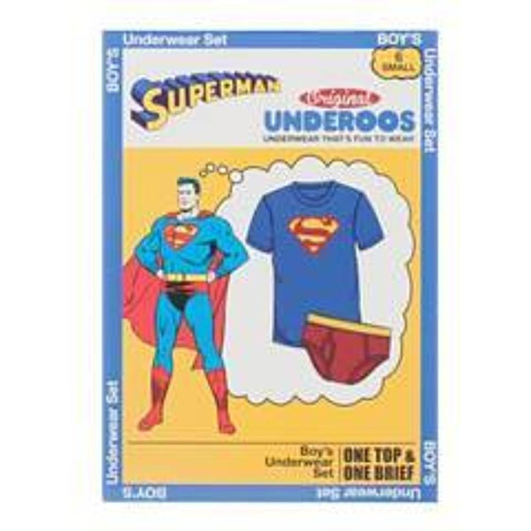 DC Comics Superman Underoos - Nerd Gear Lab