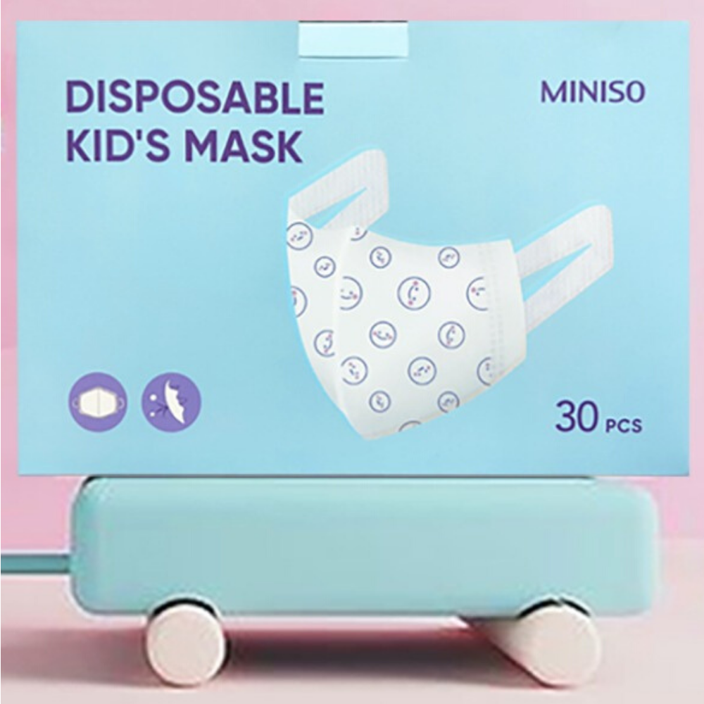 Disposable Kids Mask - 30/box [ KN95 Style ]