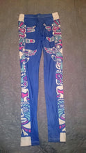 Blue Totem Pole High Waist Soft Leggings (One Size) - Shop Leggings