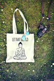Let That Shit Go Tote Bag Shopping Bag Reusable