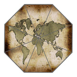 World Map Custom Sunny and Rainy Umbrella Design Portable Fashion Stylish Useful Umbrellas Good Gift