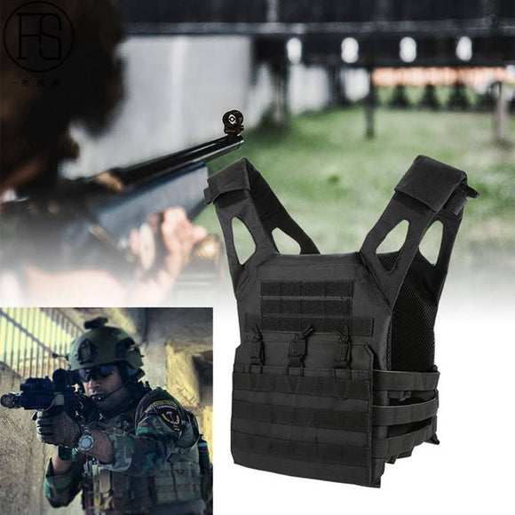 Airsoft 1000D Tactical Vest Simplified Version Military Chest Protective Jacket