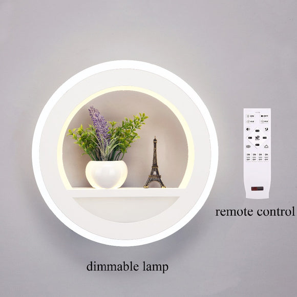 29W Wall Lamp Dimmable Light with Flower Tower for Bedroom & Living Room