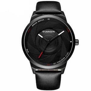 GUANQIN Simple Creative Men Watches - Water Resistant