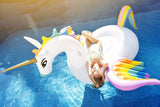 2018 New Inflatable Unicorn Giant Pool Floats 250cm Hot Rainbow