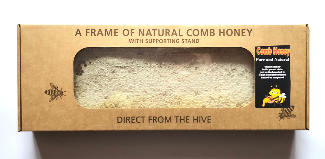 Full Pure Raw Comb Honey