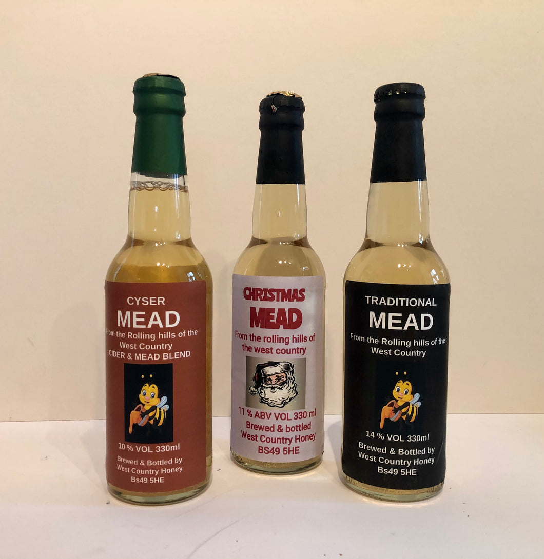 Christmas Mead Pack 3 x 330 ml bottles
