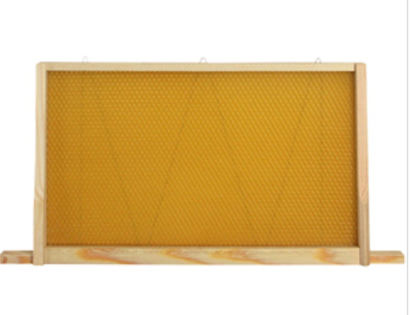 50 Brood frames and wax combination for National and W B C Hives