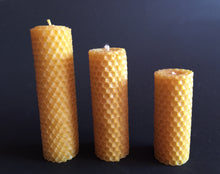Solid Cast  Beeswax Candle
