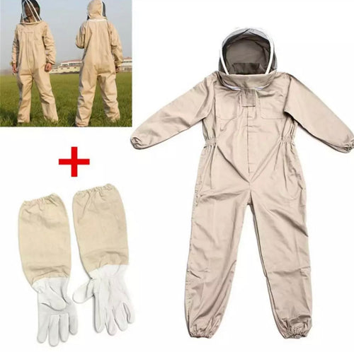 Full Beekeeping suit with Gloves