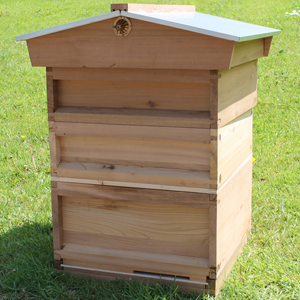 National Cedar Bee Hive Gabled Roof