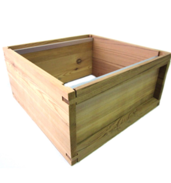 1 National Brood box in cedar