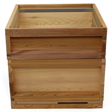 National cedar Bee Hive (flat roof)