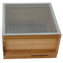 Assembled National cedar Bee Hive (flat roof)