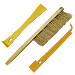 BEEKEEPERS TOOL KIT, INCLUDES BRUSH, HIVE TOOL & J TOOL