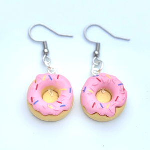 Donut Dangle Earrings