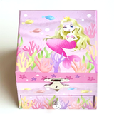 Mermaid Musical Jewellery Box