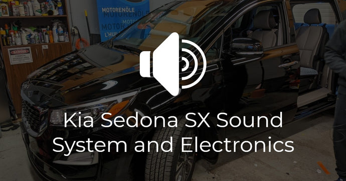 2020 Kia Sedona SX Technology Upgrade (Sound System and more!)