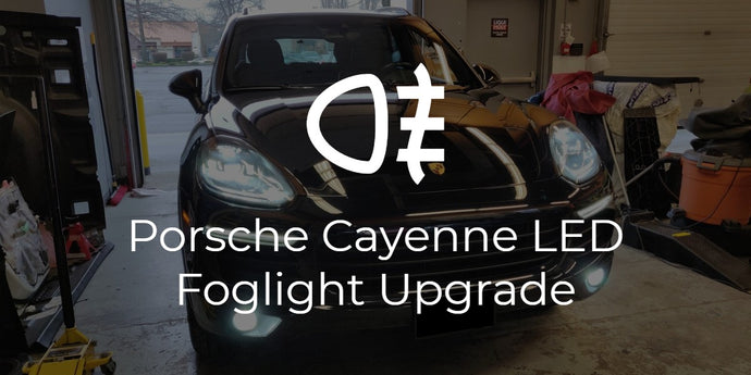 Porsche Cayenne LED Fog Light Upgrade