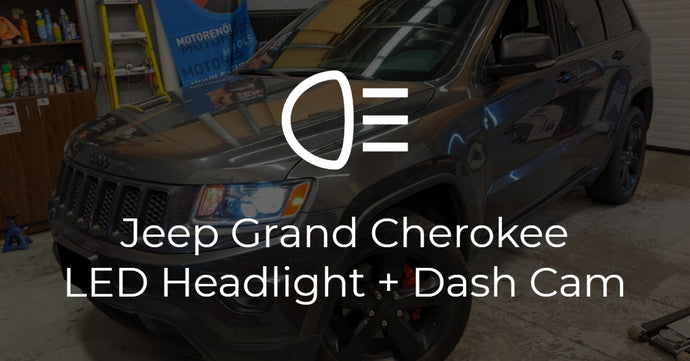 Jeep Grand Cherokee LED Headlights and Thinkware Dash Cam