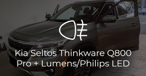 Kia Seltos Thinkware Q800 Pro + LED Lighting Upgrades