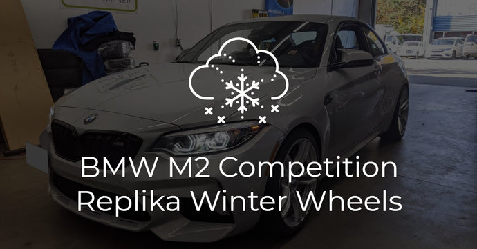 Fast Replika R163A on BMW M2 Competition Winter Package