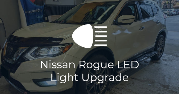 Nissan Rogue LED Headlight Upgrade and Fastco wheels
