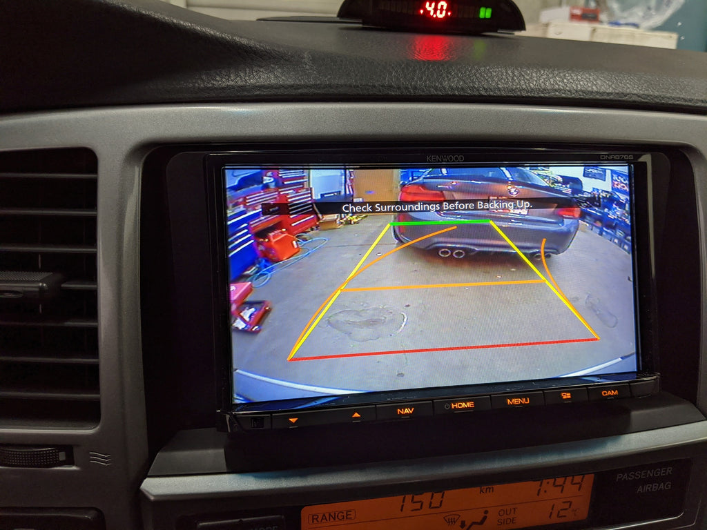 4RUNNER BACKUP CAM